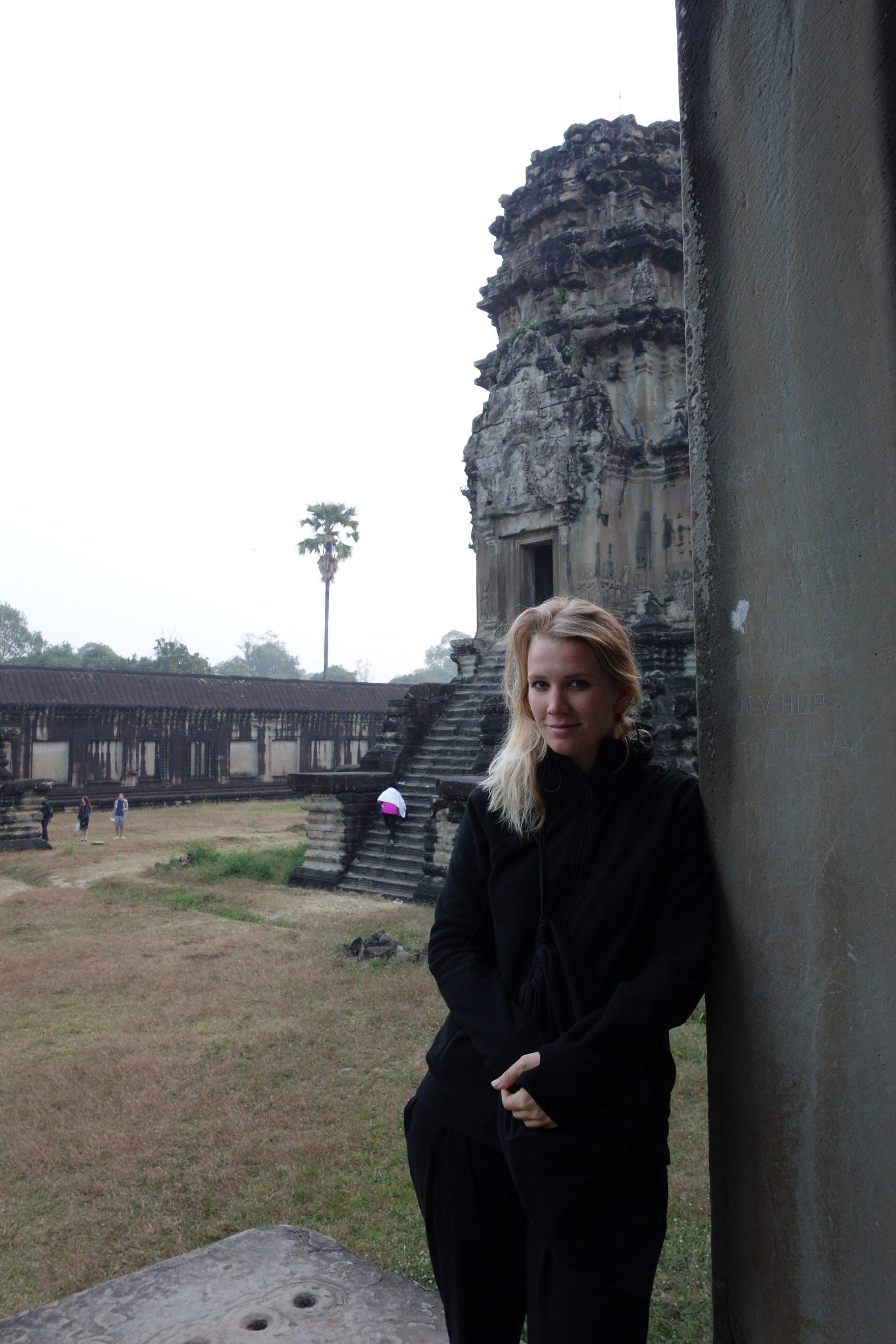 Maren in Ankor Wat