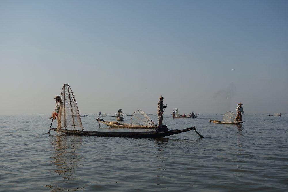 Leben an und mit dem Inle-See oder die Liebe des Bootsjungen